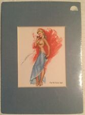 """Vintage """"I'm Fit To Be Tied"""" Pin-Up Small Size"""