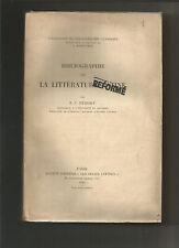 Bibliographie de la littérature latine -  herescu