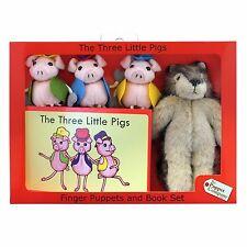 The Puppet Company-conjuntos de historia tradicionales-los Tres Cerditos Marionetas Set