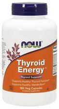 Thyroid Energy Now Foods 180 VCaps L-Tyrosine Guggul Ashwagandha Thyroid 10/2019