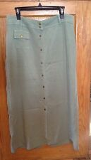 WOMENS ACTION WEAR LONG SKIRT-SZ 14- MODEST, DRESS, CHURCH, CAREER