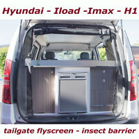 mossie insect FLY SCREEN Campervan easy to install Hyundai ILOAD tailgate