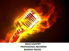 MALE COUNTRY PROFESSIONAL RECORDED BACKING TRACKS