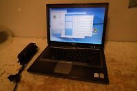 Dell Latitude D620 Laptop Core Duo 2GB Ram 80GB HDD WiFi Windows XP Pro Complete