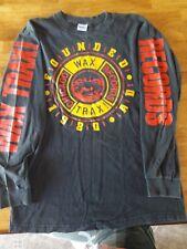Vintage Wax Trax Records Long Sleeve T-Shirt XL Rare Front242