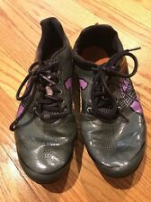 PUMA TFX Sprint Complete Running Cleats PURPLE Athletic Shoes Womens Size 6.5 #