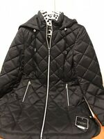 LAUNDRY by Shelli Segal - Quilted Zip Parka - Small. NWT