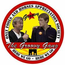 Only Fools and Horses Appreciation Society Groovy Gang Car Windscreen Sticker