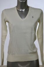 Ralph Lauren Damen V-Neck Pullover -winterweiß Gr.S (DE 36)