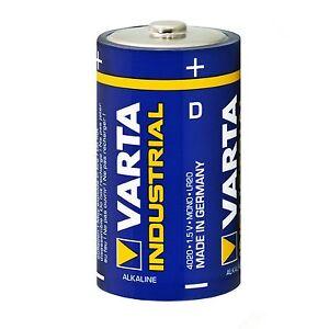 Varta Industrial Pro Mono Alkaline Batterie 1,5V D LR20 MN1300 Batterien 4020