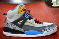 NEW Nike Air Jordan Spizike Bordeaux 2012 Size 10.5 Grey Black Red Yellow