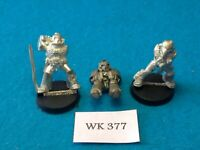 Warhammer 40K - Space Marines x3 - Metal WK377