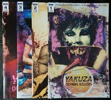 Yakuza Demon Killers #1 2 3 - 4 Complete Set Regular Cover A IDW Comics