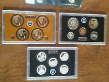 2012 US Mint Silver Proof Set Complete w/ COA & Box