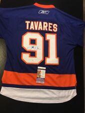 John Tavares NY Islanders Auto Autographed Hockey Jersey Sz L JSA