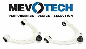 For VW Touareg Porsche Cayenne Set of 2 Front Upper Control Arms Pair Mevotech