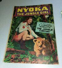 Nyoka the Jungle Girl #36 Fawcett comics 1949 golden age photo cover bondage lot