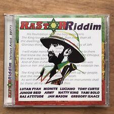 Rastar Riddim CD-Various-Midnite, Yami Bolo, Etc. (Welcome To Jamrock Riddim)