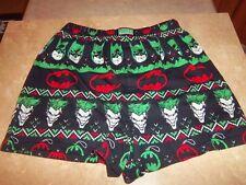 New - Men's Batman Joker Boxer Sleepwear - Small 28-30