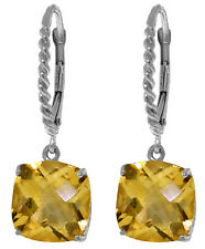 7.2 Carat Sterling Silver Begin To Unfold Citrine Earrings