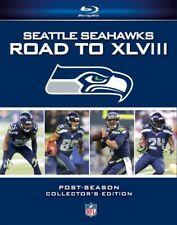 SEATTLE SEAHAWKS ROAD TO SUPER BOWL XLVIII New Blu-ray All 3 Postseason Games 48