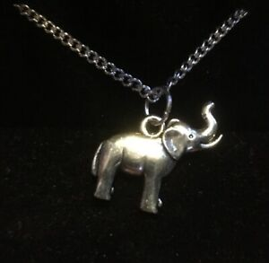 Elephant Pendant Necklace (5)