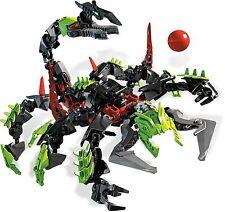 Lego 2236 Hero Factory Villians Scorpio complet à 100 % + Notice de 2011