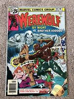 Werewolf By Night #39 Mark Jewelers Variant!!  Bronze Age Mid Grade Beauty!!!