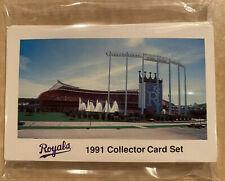 Rare 1991 Kansas City Royals Collector Card Set Kansas City Life Insurance Brett