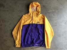 Vintage Patagonia Windbreaker Anorak Jacket sz XL Yellow Purple