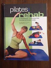 Pilates for Rehab A Guidebook Elizabeth Smith Kristin Smith Manual 2005 Book
