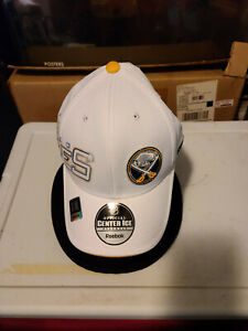 BUFFALO SABRES REEBOK CENTER ICE HAT ONE SIZE FITS ALL S/M ADULT:NEW !!!!!