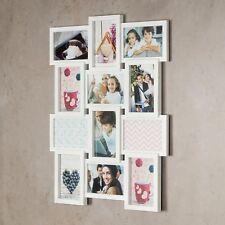 galería de fotos 12 Paneles Vidrio Blanco 60x45cm Marco 3d COLLAGE