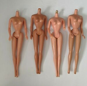 Vintage Set of 4 Barbie Doll Bodies 1970s, 80s  can be used for clothes modeling