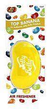 Jelly Belly Bean 3D Car Home Office Air Freshener Top Banana Fragrance Smell NEW