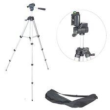 Trépied Aluminium Telescopique pour Appareil Photo Video TR363 136cm avec Sac