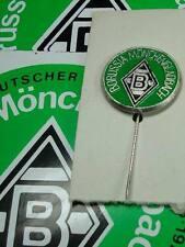 Borussia Mönchengladbach Blech Pin Anstecknadel 1970er Jahre  &  Aufkleberkarte
