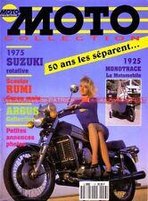MOTO COLLECTION 13 SUZUKI RE5 Rotary PUCH 800 RUMI BFG Monotrace René Gillet 750