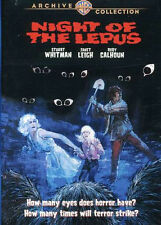 Night of the Lepus DVD (1972) - Janet Leigh, Stuart Whitman, Rory Calhoun