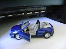 SCHABAK VW GOLF CABRIOLET 1/43 BLUE