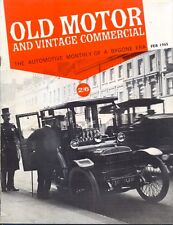 Old Motor magazine Feb 1965 Sentinel Wagon Paris Taxis Mephistopheles