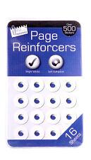 500 + FORO Anello reinforcers da utilizzare con leganti anello grande per scuola / ufficio 5930
