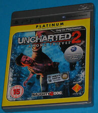 Uncharted 2 - Among Thieves - Sony Playstation 3 PS3 - PAL