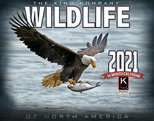2021 Wildlife Wall Calendar by The KING Company (free shipping)