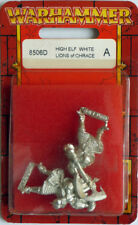 Lot of 5 Games Workshop Warhammer High Elf White Lions of Chrace 8506D + 1 8505B