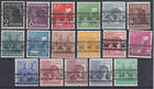 US & British Zone 36/51 I Bandaufdruck, With 49 I+49 A I Mint