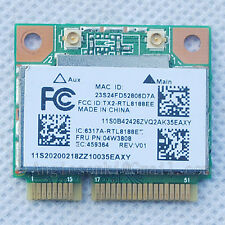 Lenovo Thinkpad E145 E545 Wireless RTL8188EE P/N:04W3808/04W3819 WiFi WLAN Card