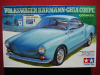 1966 Volkswagen Karmann-Ghia Coupe 1/24 Tamiya Plastic Model Kit Rare Classic VW
