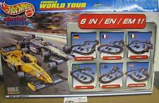 TYCO Mattel Hot Wheels Formula World Tour Slot Car Racing Set W/ 2 Cars TYC37647