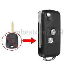 2 Button Remote Flip Key Fob Case Uncut Blade For CITROEN SAXO BERLINGO PICASSO